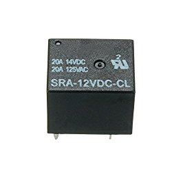 5 Pin Relay 12V DC 20A Coil Power Relay SRA-12VDC-CL