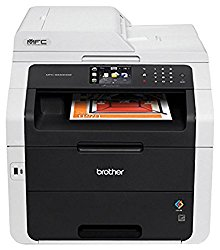 Brother MFC-9340CDW All-in-One Wireless Digital Color Printer, 23ppm Black/Color, 600x2400dpi, 250 Sheet Paper Capacity, USB 2.0 – Print, Copy, Scan, Fax