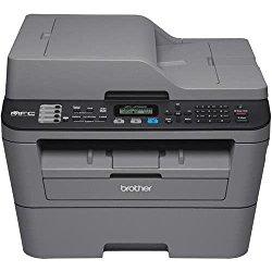 Brother MFC-L2700DW Laser Multifunction Printer – Monochrome – Plain Paper Print – Desktop – Copier/Fax/Printer/Scanner – 27 ppm Mono Print – 2400 x 600 dpi Print – 27 cpm Mono Copy LCD – 600 dpi Optical Scan – Automatic Duplex Print – 251 sheets Input –
