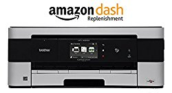 Brother MFCJ4620DW Wireless Color Compact A3 Inkjet Photo Printer with Scanner, Copier and Fax, Amazon Dash Replenishment Enabled