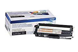 Brother TN315BK Toner Cartridge for Brother Laser Printer – Retail Packaging – Black