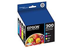 Epson T200120-BCS DURABrite Ultra Black & Color Combo Pack Standard Capacity Cartridge Ink