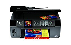 Epson WorkForce 500 All-in-One Printer (Black) (C11CA40201)