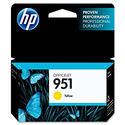 HP 951 Yellow Original Ink Cartridge (CN052AN)