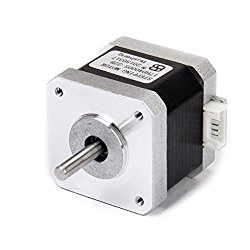 LEORX Nema 17 2 Phase 4-Wire 1.5A 40mm 1.8° Stepper Motor for 3D Printer