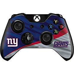 NFL New York Giants Xbox One Controller Skin – New York Giants Vinyl Decal Skin For Your Xbox One Controller