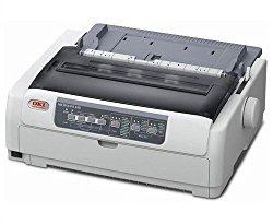 Oki Microline 690 Dot Matrix Printer – Monochrome – 24-pin – 480 cps Mono – 360 x 360 dpi – USB – Parallel 62434001