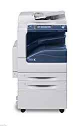 Refurbished Xerox WorkCentre 5335 Tabloid-size Black-and-white Multifunction Printer – 35 ppm, Copy, Print, Scan, Two Trays, Stand