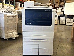 Refurbished Xerox WorkCentre 5855 Tabloid Black-and-white Multifunction Laser Printer – 55 ppm, Copy, Print, Scan, Single-pass Auto-Duplex Document Feeder, Two Trays, High Capacity Tandem Tray