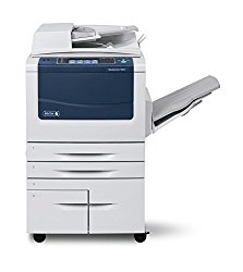 Refurbished Xerox WorkCentre 5875 Tabloid-size Black-and-white Multifunction Printer – 75 ppm, Copy, Print, Scan, Single-pass Auto-Duplex Document Feeder, Two Trays, High Capacity Tandem Tray