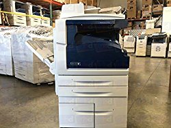 Refurbished Xerox WorkCentre 5955 Tabloid-size Black-and-white Multifunction Printer – Copy, Print, Scan, Center Offsetting Tray, 2 Trays, High Capacity Tandem Tray