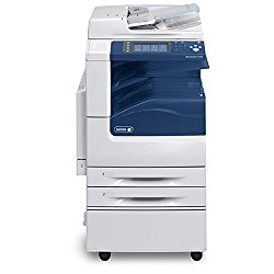 Refurbished Xerox WorkCentre 7125 Tabloid-size Color Multifunction Printer – 25 ppm, Copy, Print, Scan, Duplex, 2 Trays, Stand