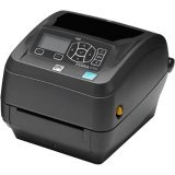 Zebra Technologies ZD50042-T01200FZ Series ZD500 Thermal Transfer Performance Desktop Printer, 203 DPI, USB/Serial/Centronics Parallel/Ethernet, US Power Cord, Black