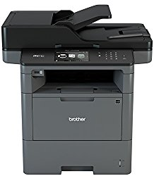 Brother MFCL6700DW Business Laser All-in-One with Advanced Duplex, Wireless Networking and Large Paper Capacity,  Black and White Printer, Amazon Dash Replenishment Enabled
