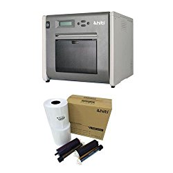 HiTi P525L Compact Dye Sub Photo Printer – With HiTi 4×6 Media for Photo Printer P520 & P520L