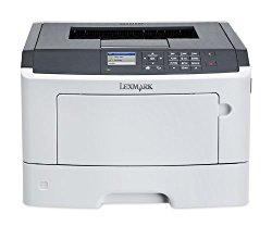 Lexmark MS417dn Compact Laser Printer, Monochrome, Networking, Duplex Printing