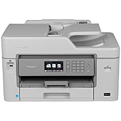 Brother MFCJ5830DW Inkjet All-in-One Color Printer, Wireless, Duplex Printing, and Mobile Printing, Amazon Dash Replenishment Enabled