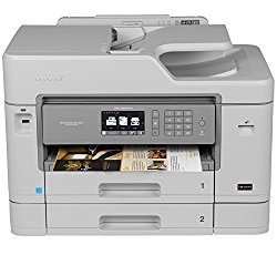 Brother Printer MFCJ5930DW Wireless Color Printer with Scanner, Copier & Fax, Amazon Dash Replenishment Enabled