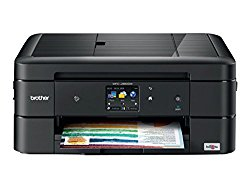 Brother WorkSmart MFC-J880DW Compact All-in-One Inkjet Printer, Amazon Dash Replenishment Enabled