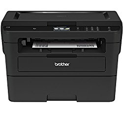 Brother Compact Monochrome Laser Printer, HLL2395DW, Flatbed Copy & Scan, Wireless Printing, Cloud-Based Printing & Scanning