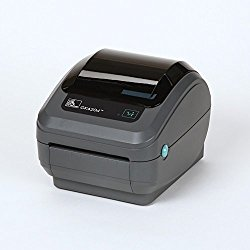 Zebra GK420d Monochrome Desktop Direct Thermal Label Printer, 5 in/s Print Speed, 203 dpi Print Resolution, 4.09″ Print Width, 100/240V AC