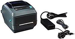Zebra GK420t Monochrome Desktop Direct Thermal/Thermal Transfer Label Printer with Fast Ethernet Technology, 5 in/s Print Speed, 203 dpi Print Resolution, 4.09″ Print Width, 100/240V AC