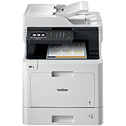 Brother Printer MFCL8610CDW Business Color Laser All-in-One with Duplex Printing and Wireless Networking, Amazon Dash Replenishment Enabled