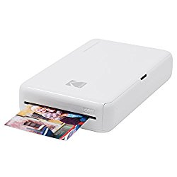 Kodak Mini 2 HD Wireless Mobile Instant Photo Printer w/4PASS Patented Printing Technology – Compatible w/iOS & Android Devices – White