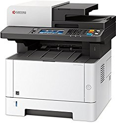 Kyocera 1102S52US0 Model M2640idw Monochrome Multifunctional Laser Printer (Print, Copy, Color Scan and Fax), 52 PPM B&W, Print Resolution 600 x 600 DPI Up To Fine 1200 DPI, Wireless (HyPAS capable)