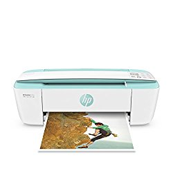 HP DeskJet 3755 Compact All-in-One Wireless Printer with Mobile Printing, Instant Ink ready – Seagrass Accent
