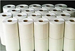 40 Rolls – Direct Thermal 4 x 6 Labels – 10,000 total, for Zebra, Eltron, and Samsung Printers