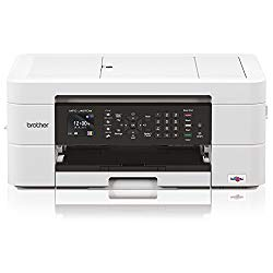 Brother MFC MFC-J497DW Inkjet Multifunction Printer – Color – Plain Paper Print – Desktop – Copier/Fax/Printer/Scanner – 6000 x 1200 dpi Print – Automatic Duplex Print – 1 x Input Tray 100 Sheet, 1 x