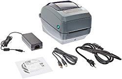 Zebra GK420t Monochrome Desktop Direct Thermal/Thermal Transfer Label Printer, 5 in/s Print Speed, 203 dpi Print Resolution, 4.09″ Print Width, 100-240V AC