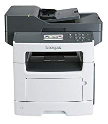 Lexmark MX517de Monochrome All-In One Laser Printer with Scan, Copy, Network Ready, Duplex Printing and Professional Features