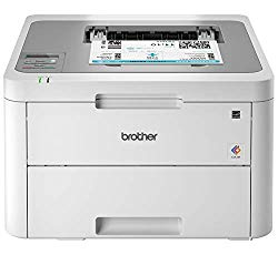 Brother HL-L3210CW Compact Digital Color Printer Providing Laser Printer Quality Results with Wireless, Amazon Dash Replenishment Enabled