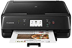 Canon PIXMA TS6220 Wireless All in One Photo Printer with Copier, Scanner and Mobile Printing, Black
