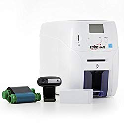 Complete Pointman Nuvia N20 1-Sided ID Card Printer System Bundle