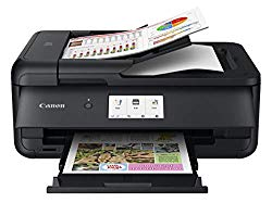 Canon PIXMA TS9520 Wireless Photo All In one Printer | Scannier | Copier | Mobile Printing with AirPrint and Google Cloud Print, Black
