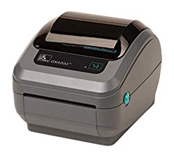Zebra GX430t Monochrome Desktop Direct Thermal/Thermal Transfer Printer with Serial/USB/Ethernet Ports, 4″/s Print Spd, 300 dpi Print Res, 4.09″ Print Width, 100-240V AC
