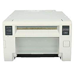 Mitsubishi CP-D80DW Dye Sublimation Thermal Transfer Full Color Photo Printer with Rewind Function, 300 dpi, 2 Print Sizes/1 Media, 6″ Roll