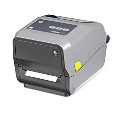 Zebra – ZD620t Thermal Transfer Desktop Printer for Labels and Barcodes – Print Width 4 in – 203 dpi – Interface: Bluetooth LE, Ethernet, Serial, USB – ZD62042-T01F00EZ