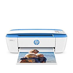 HP DeskJet 3755 Compact All-in-One Wireless Printer with Mobile Printing, HP Instant Ink & Amazon Dash Replenishment ready – Blue Accent (J9V90A) (Renewed)