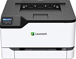 Lexmark C3224dw Color Laser Printer with Wireless Capabilities, Standard Two Sided Printing, Two Line LCD Screen with Full-Spectrum Security and Prints Up to 24 ppm (40N9000)