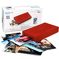 SereneLife PICKIT21RD.5 Mobile Printer, Red