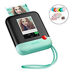 Polaroid Pop 2.0 2 in 1 Wireless Portable Instant 3×4 Photo Printer & Digital 20MP Camera with Touchscreen Display, Built-in Wi-Fi, 1080p HD Video (Green) Prints From your Smartphone.