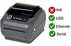 Zebra GX420D Thermal Label Barcode Printer GX42-202410-000 (Certified Refurbished)