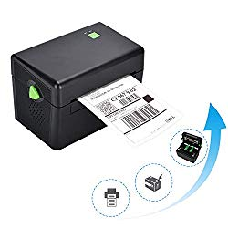 BESTEASY Direct Thermal High Speed Printer, Compatible with Etsy, Ebay, Amazon – Barcode Printer, 4″x6″ Thermal Labels Printer