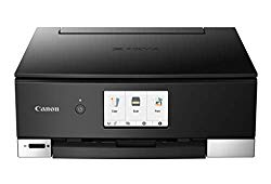 Canon PIXMA TS8320 Inkjet Wireless Color Printer All In One, Copier, Scanner, Black