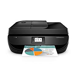 HP HP4650-RB-AMZ Office Jet 4650 Wireless All-in-One Photo Printer, Copier and Scanner – Black (Renewed), Black & Color
