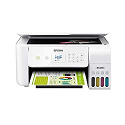 Epson EcoTank ET-2720 Wireless Color All-in-One Supertank Printer with Scanner and Copier – White